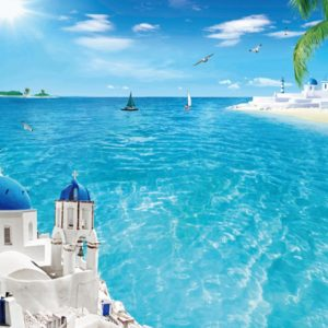tranh gạch cảnh biển